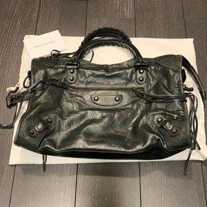 Balenciaga Classic City bag in Black GUC Authentic